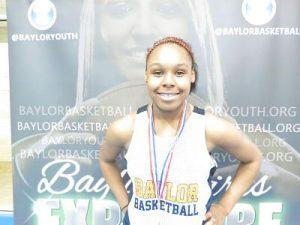 Kyisha Hunt Volleyball and Basketball Star