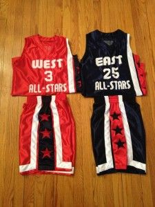 East vs West Qualifying Basketball Camp