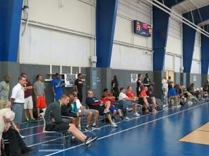 Over 100 college coaches attended