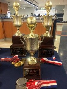 2014 Battle of the Borders Trophies