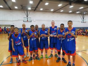 2014 East vs West All Star Game East 6th Grade Skill Challenge Winners!