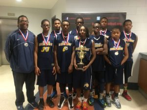 8th Grade Illinois Fast Break Run up 2014 Battle of the Borders