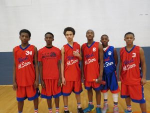 East vs. West All Star 8th Graders plus Lance!