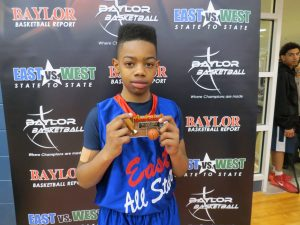 Joel Watts received the skill challenge & East vs. West All Star Education First Awards !