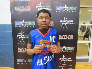 Karlen Coker East vs. West All Star Education First Awards & Skill Challenge