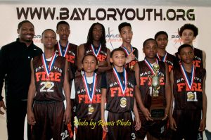 Baylor All star Mac Irvin Fire 7th