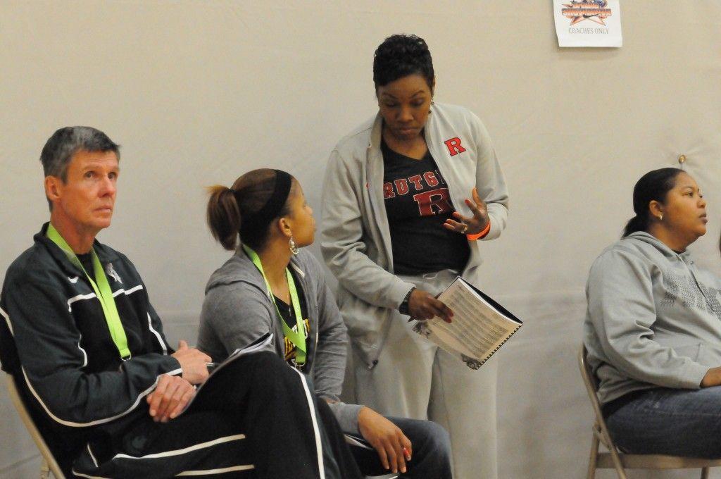 Women College Coaches 2014 Nike Spring Showdown