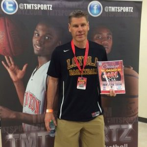Porter Moser-Head Coach- Loyola University Chicago