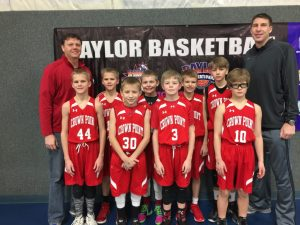 5th Grade Crown Point Baylor Winter League