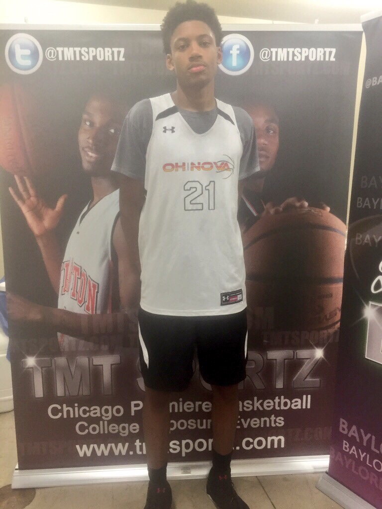 day and chicago summer jam baylor basketball this kid has legit next level game his unique skill set allows him to easily stand out his motor is running as the kid can get a rebound then it s off to
